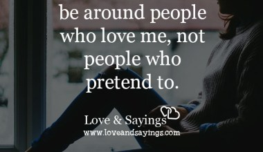 People who pretend to