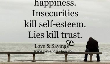 Lies kill trust