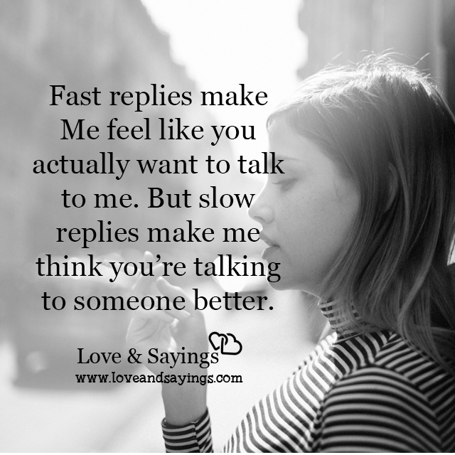Make me think you're talking to someone better