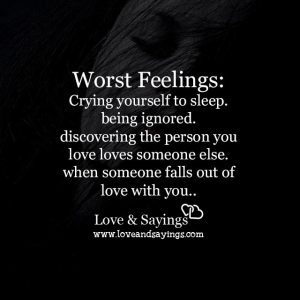 The person you love loves someone else