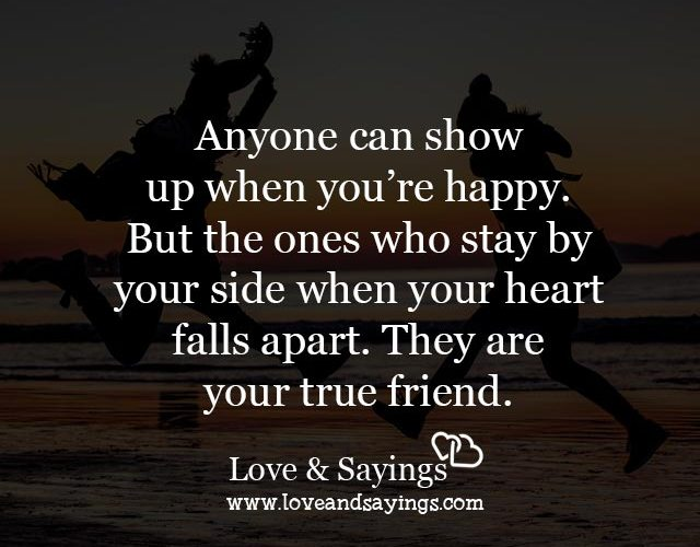 They are your true friend