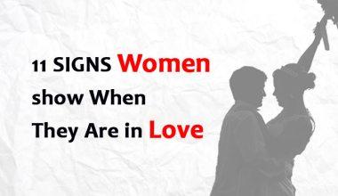 11 SIGNS Women