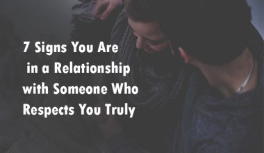someone who respects you truly