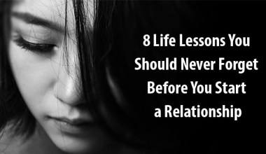 life lessons before you start a relationship