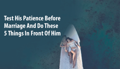 Patience Before Marriage