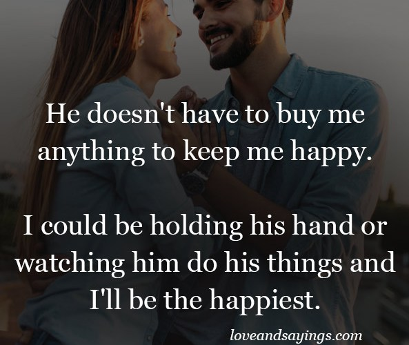 I'll be the happiest