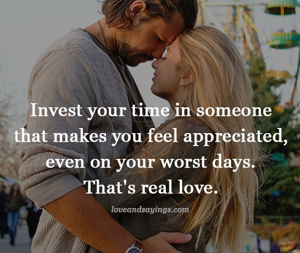 Invest your time in someone