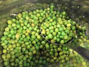 instant pot peas