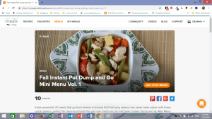 Once A Month Meals How to