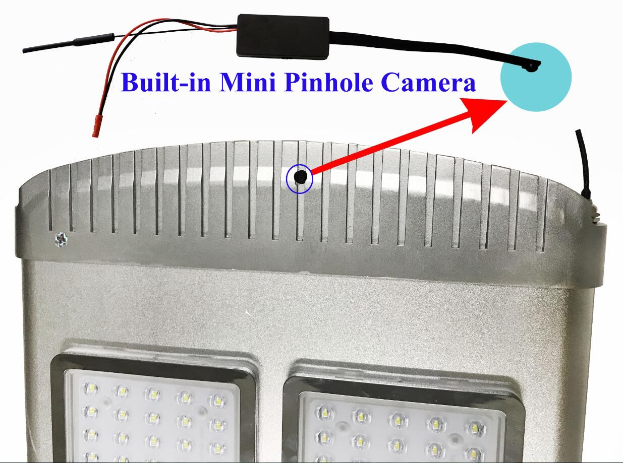 hight resolution of built in mini camera is invisible thief and people not easy to find it hd video can read and record by cellphone app