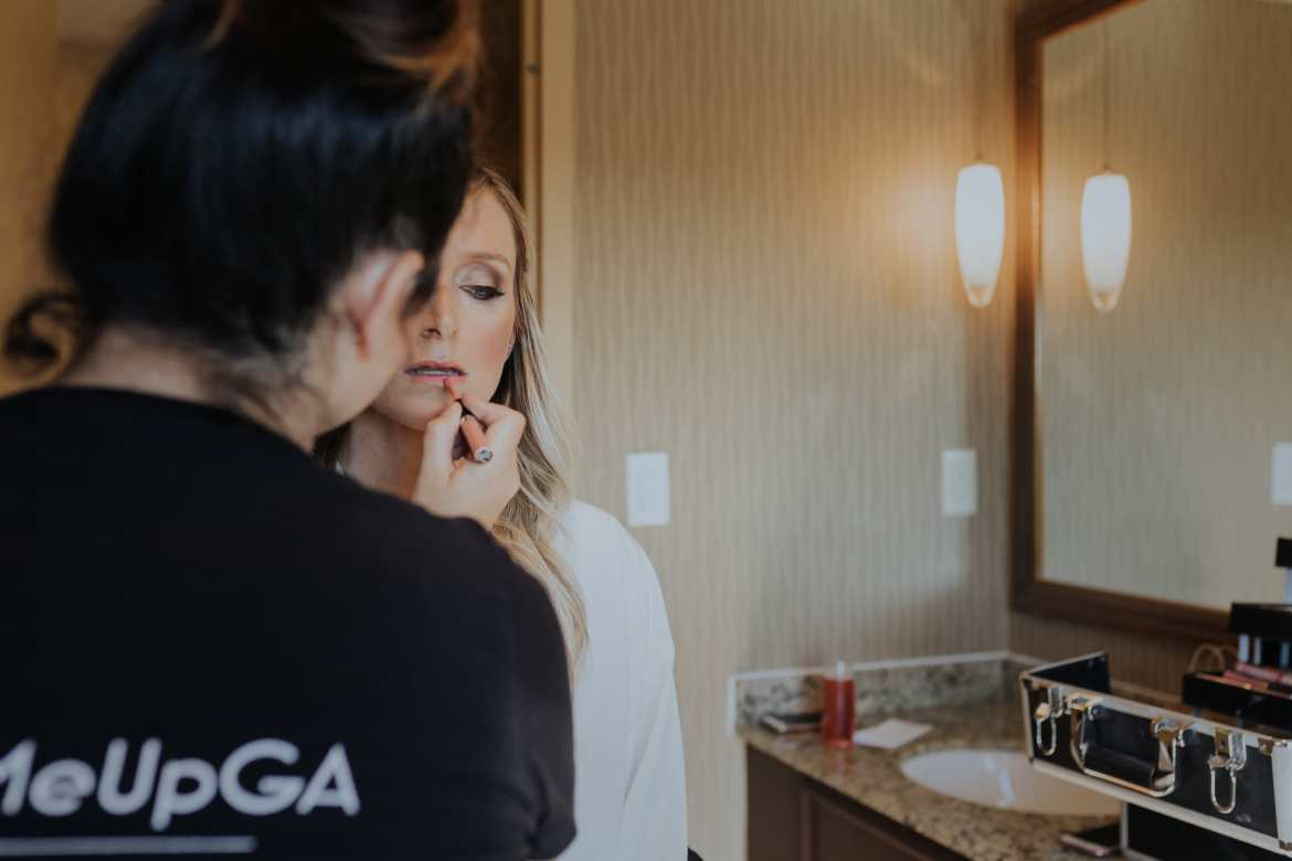Atlanta Wedding Photographer Bride Getting Ready