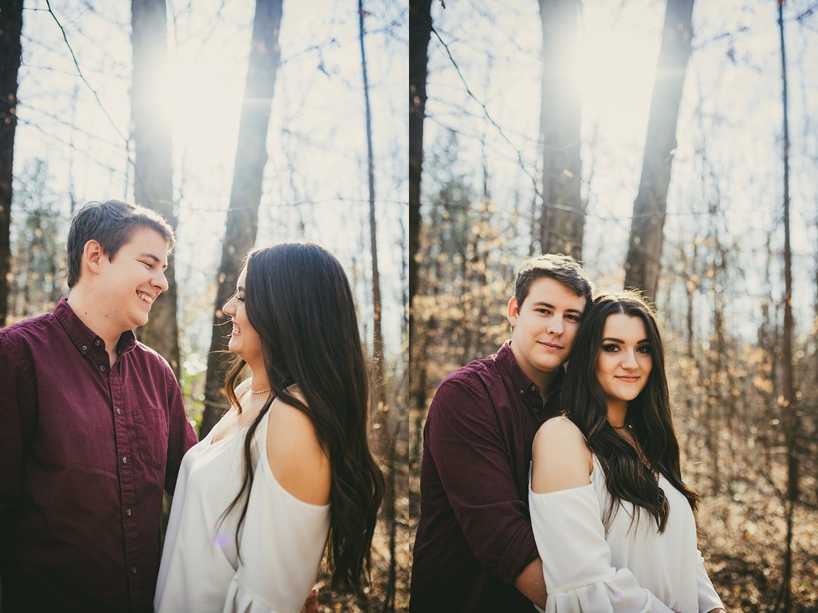 Engagement Session Roswell Spring Flowers,