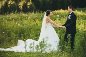 Atlanta Wedding Photographer Wildflower Field