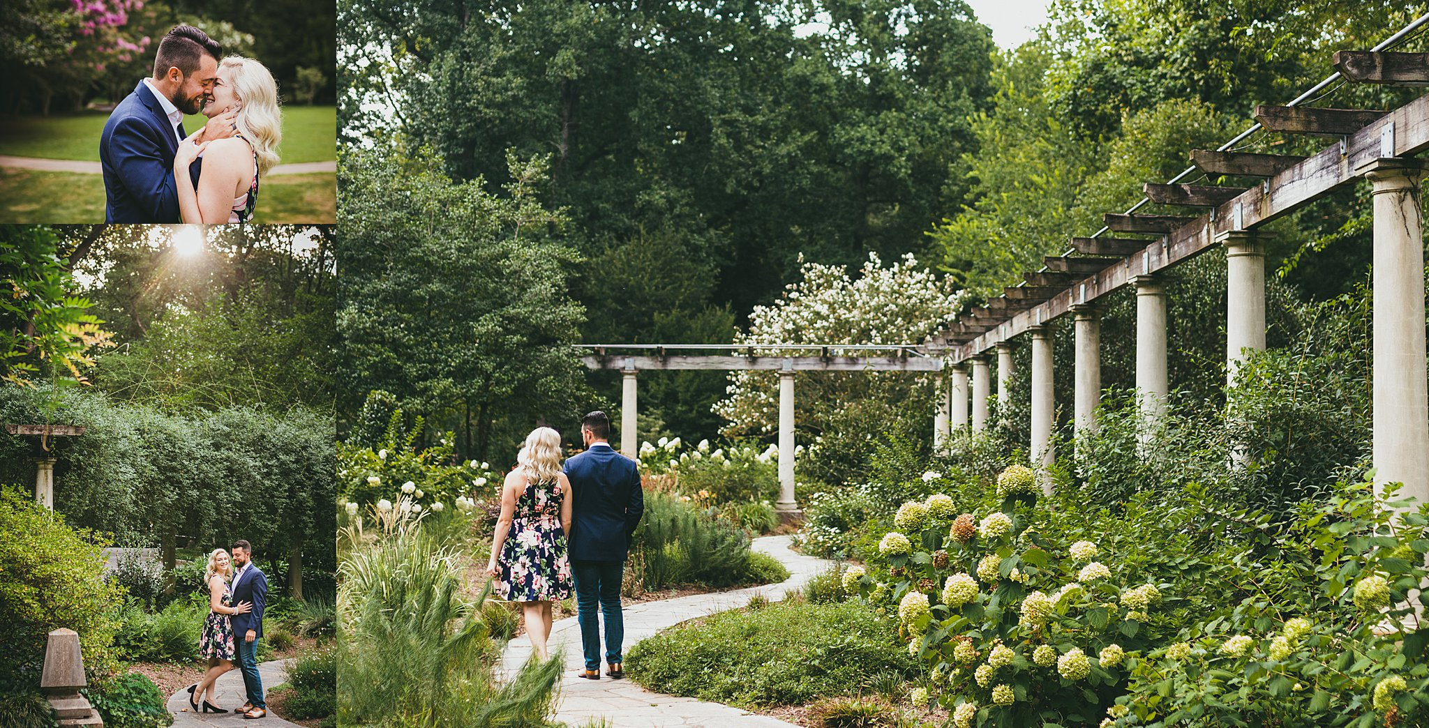 Cator Woolford Gardens engagement session atlanta wedding photographers