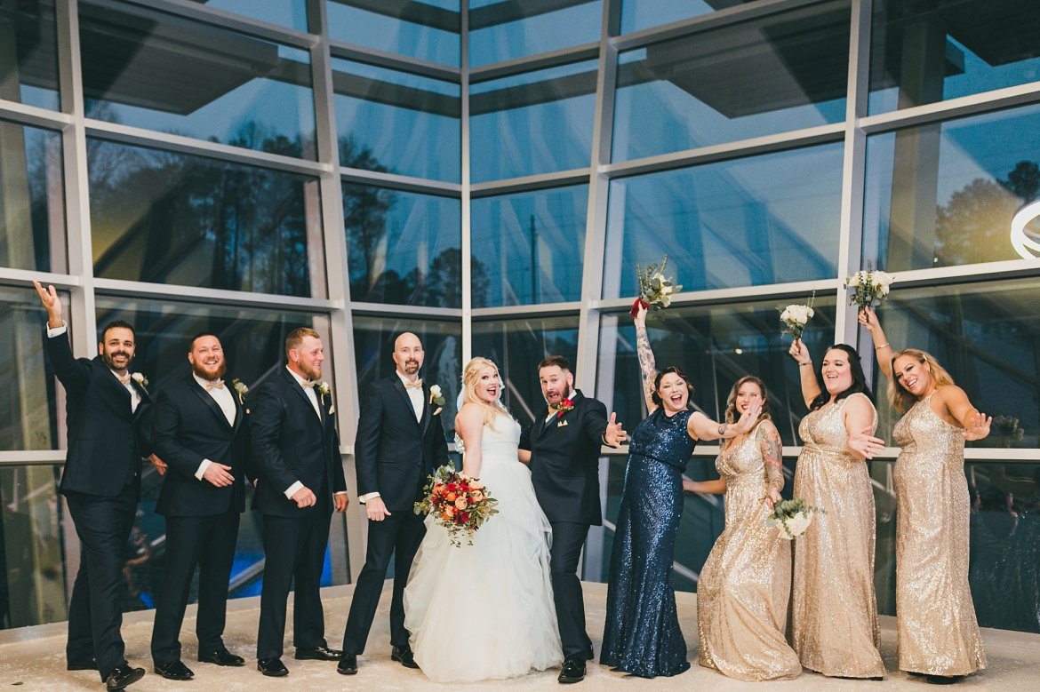 Modern Dramatic Wedding Acworth Georgia Atlanta Wedding Photographers
