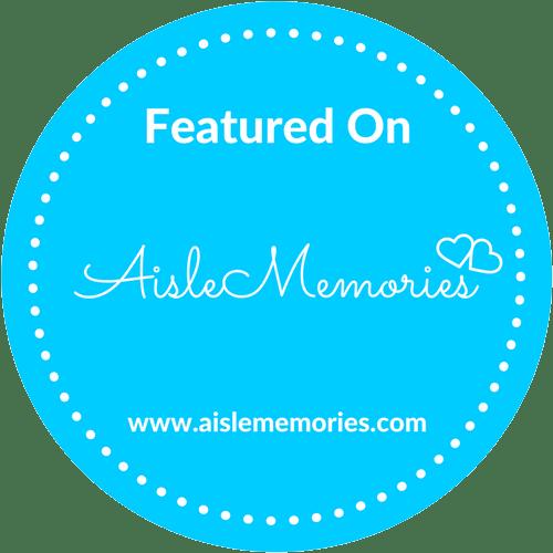 Wedding Featured in Aisle Memories