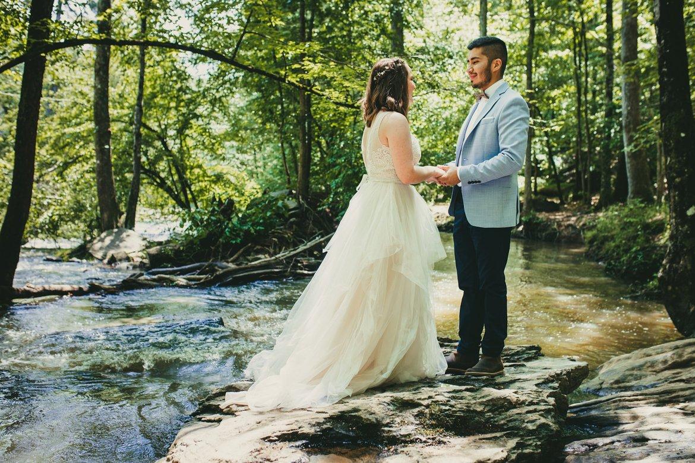 Atlanta Elopement Photographers, Sweetwater Creek State Park, Atlanta Wedding Photographers