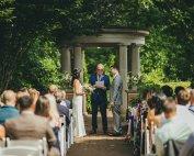 Atlanta Botanical Gardens Trustee Garden Wedding Intimate Wedding Ceremony