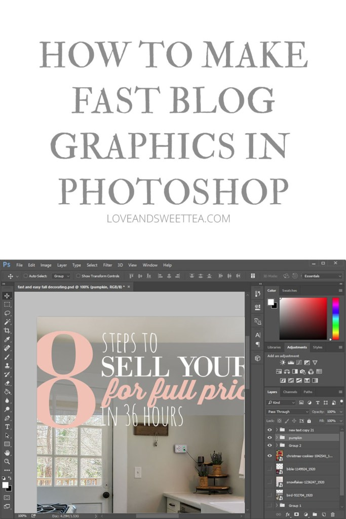 Make Fast Photoshop Blog Graphics