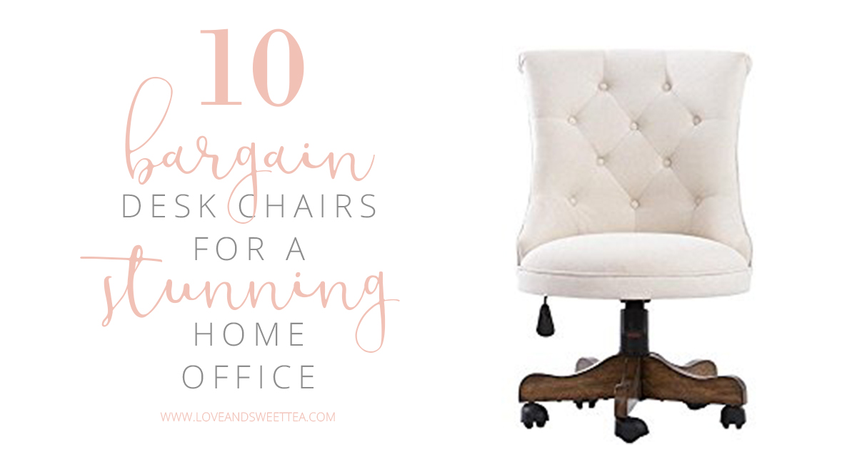 10 bargain desk chair ideas for a stunning home office love