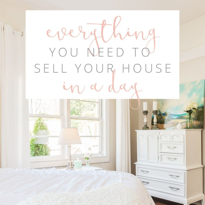 In my head, spending $100 or even $200 or $300 on home staging could mean an extra $1K, $2K or $3k in my pocket, so even though we are a single income family on a serious budget, we made it work. And it paid off big time for us.