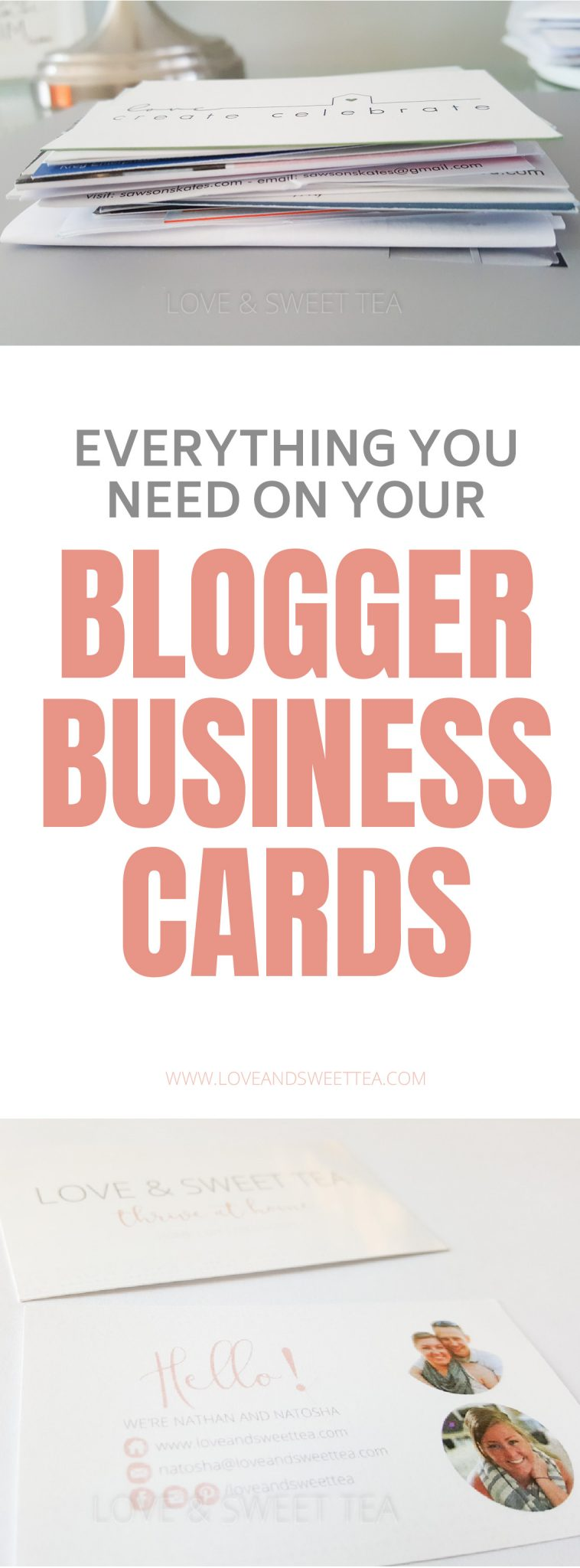 Blogger Business Cards | Business Cards For Bloggers