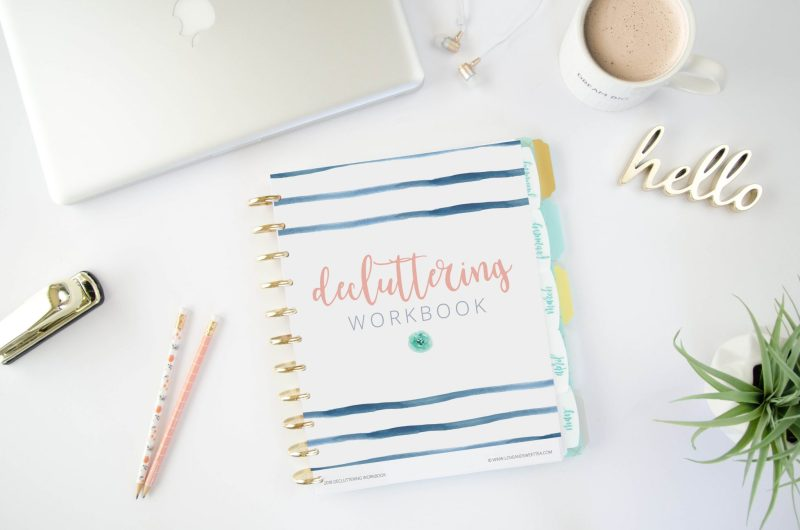 Free Decluttering Workbook by Love and Sweet Tea