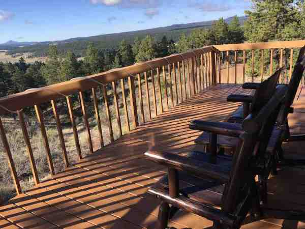 Rocking Chair at Mountain House