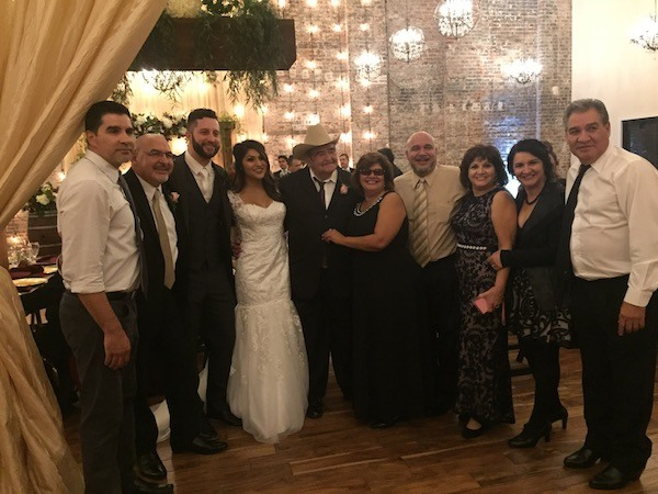 Wedding Day Picture With Family