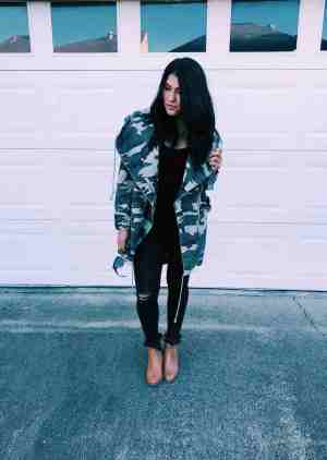 Love And Tacos Camo Jacket