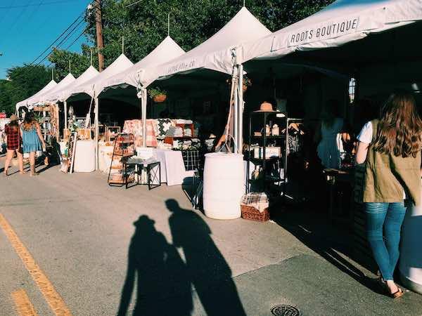 Market Outside Of Magnolia For Silobration
