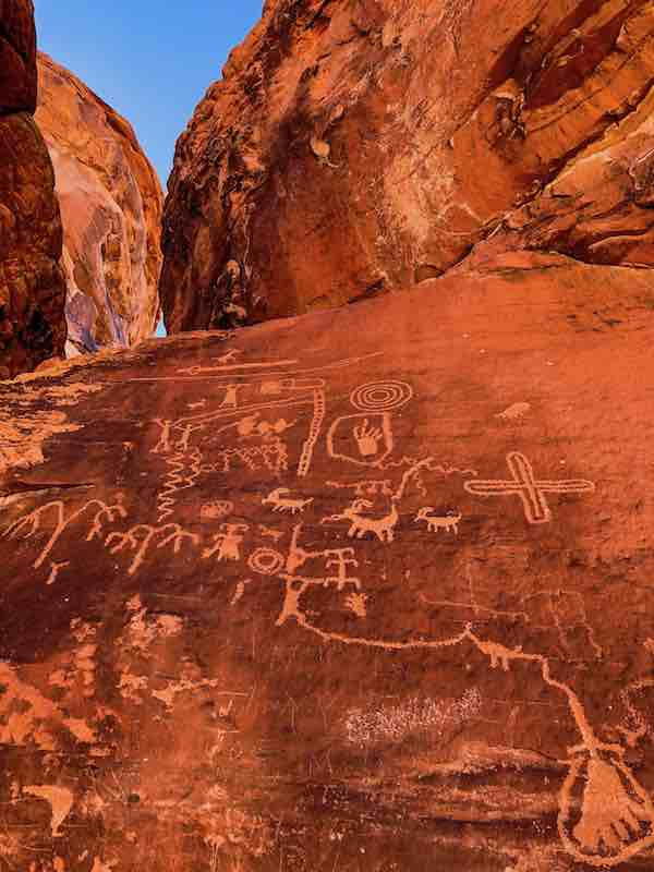 Ancient Writings Valley Of Fire State Park