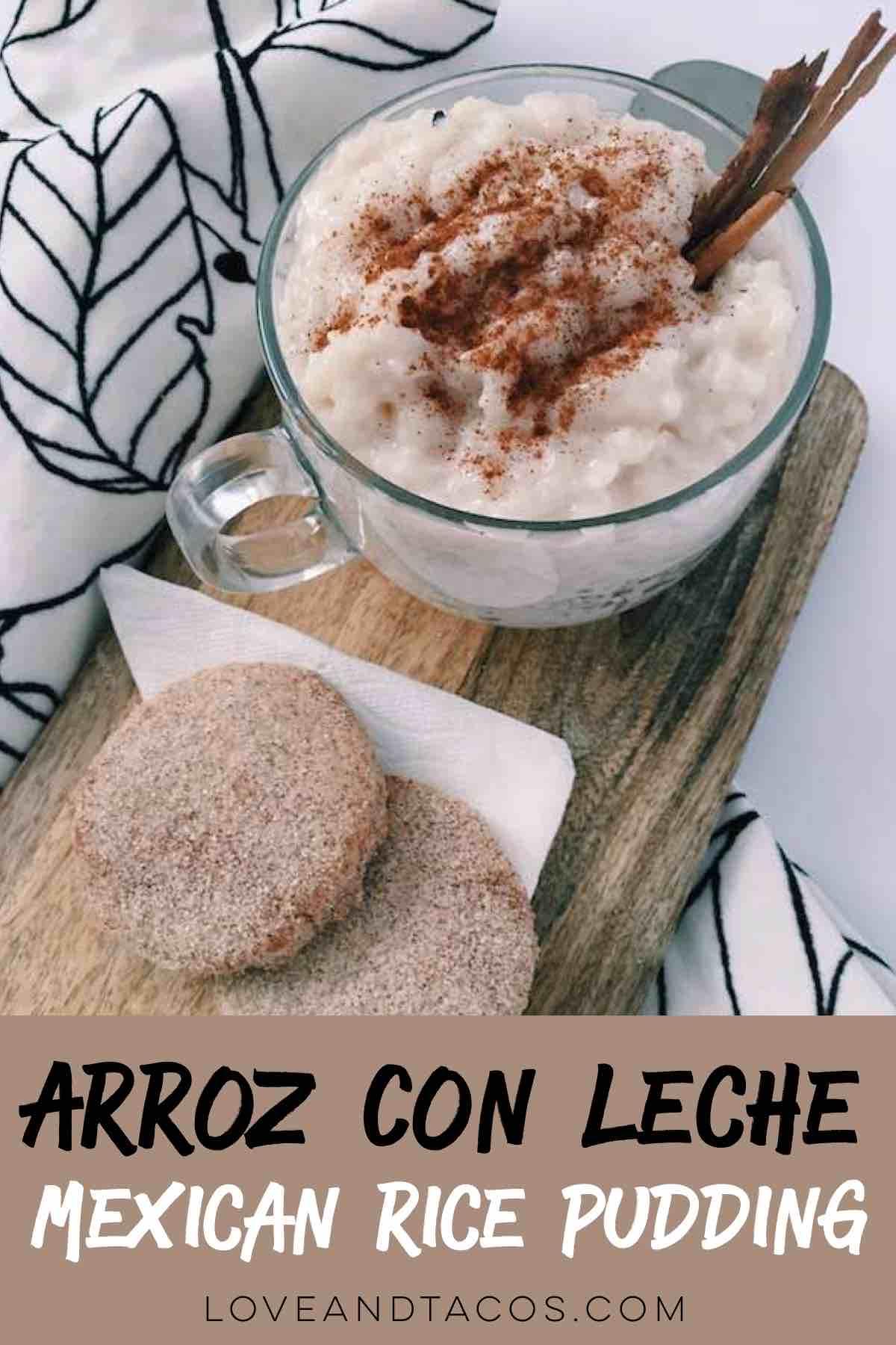 Arroz Con Leche Pinterest Image - Love And Tacos