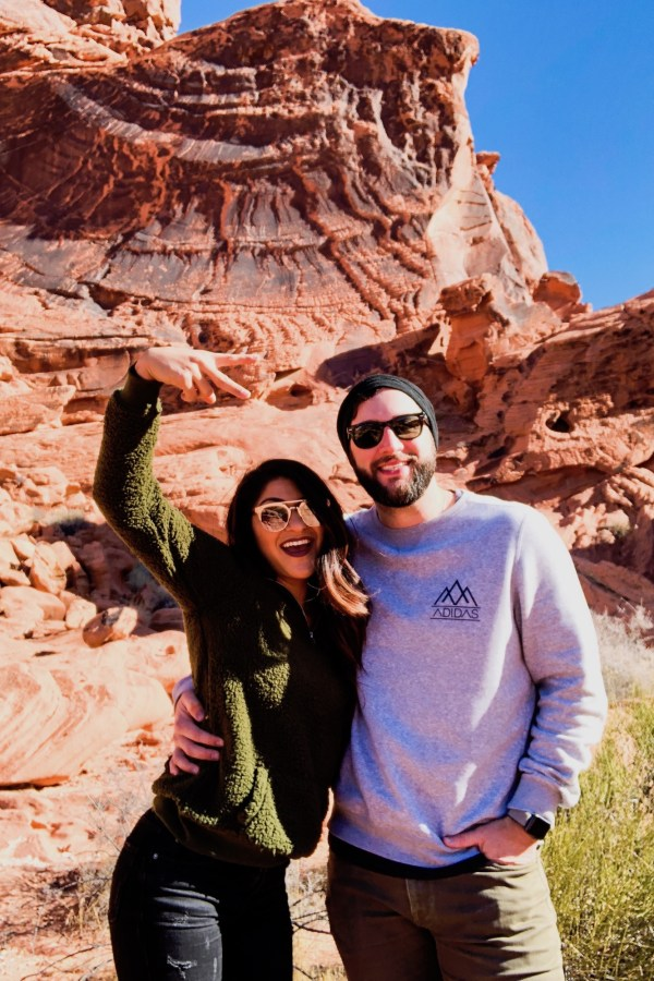 Husband And Wife Valley Of Fire Hike