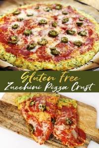 This zucchini crust pizza is soo delicious and does not taste too far away from the original thing! Try it out!