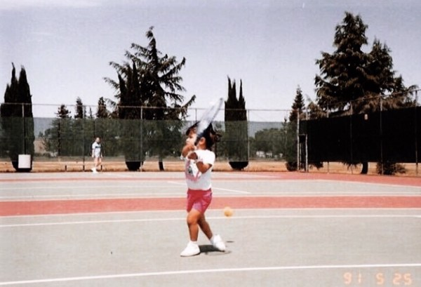 Baby Quimi Playing Tennis Crop