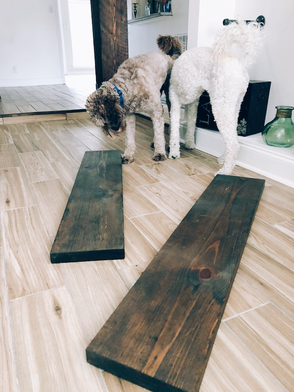 How to Make Rustic Wood Shelves - A DIY Guide 6
