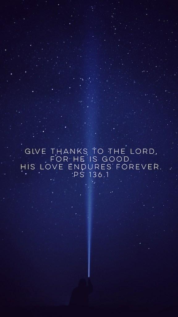 Psalm 136 Wallpaper