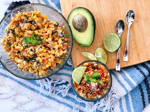 A lovely Mexican Corn Salad Spread that you will fall in love with.