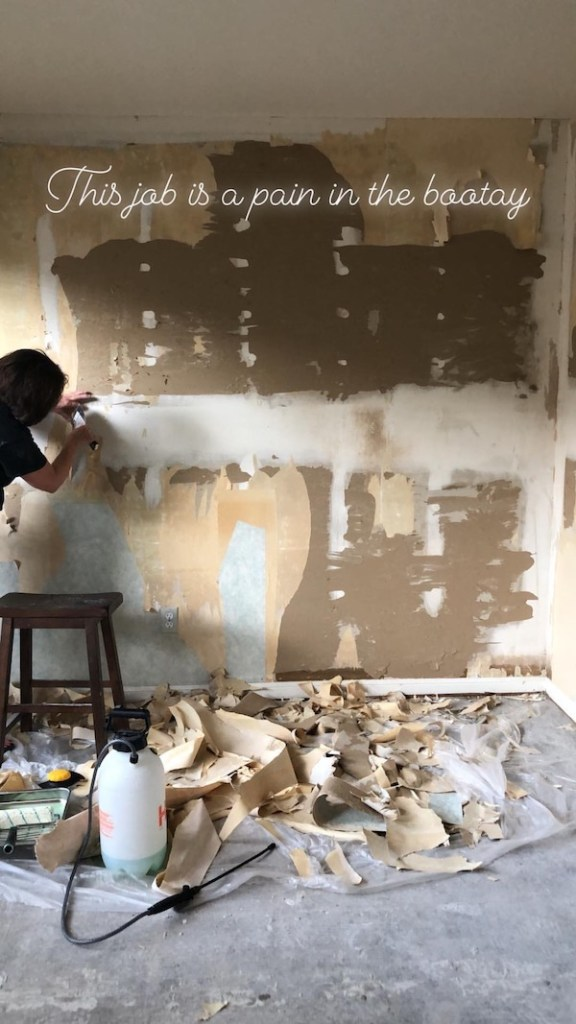 How To Remove Wallpaper - DIY 13