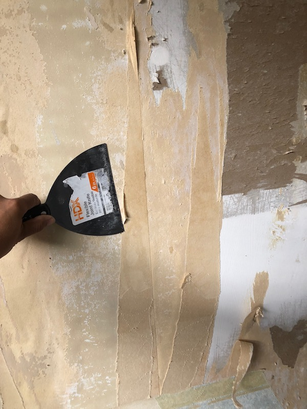 How To Remove Wallpaper - DIY 9