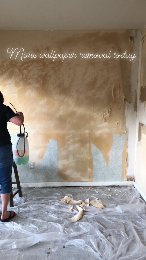 How To Remove Wallpaper - DIY 12
