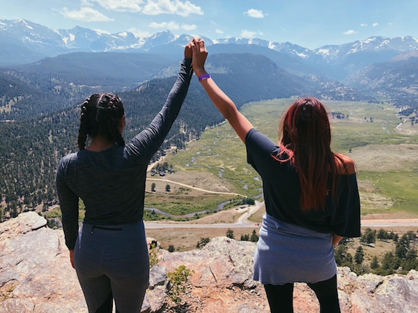 Sisters On A Mountain
