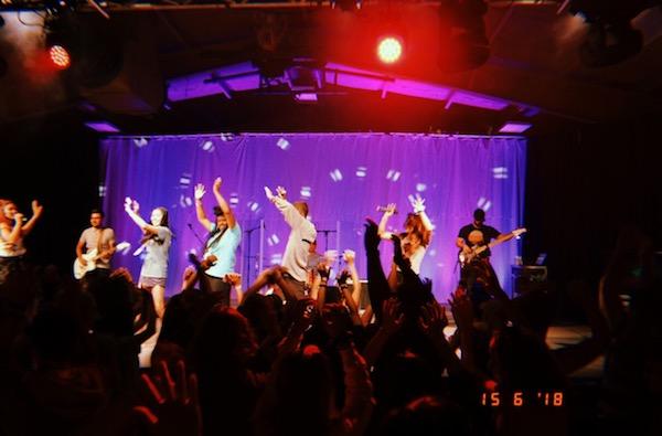 Worship And Dancing In Estes Park Colorado