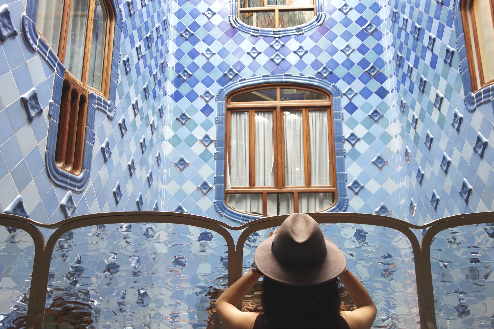 L'intérieur de la Casa Batlló