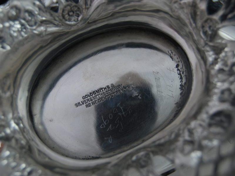 純銀 バスケット