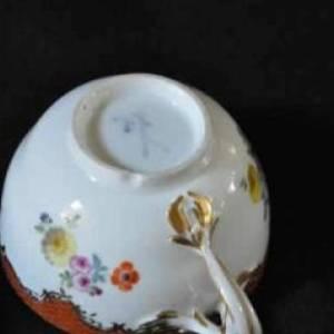 アンティーク マイセン ティーカップ 1732-1773 年作