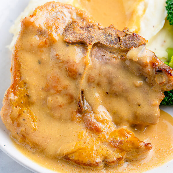 A toaster oven is more energy efficient than a regular oven, and lets you brown food better than a microwave. Easy Baked Pork Chops In Gravy Love Bakes Good Cakes