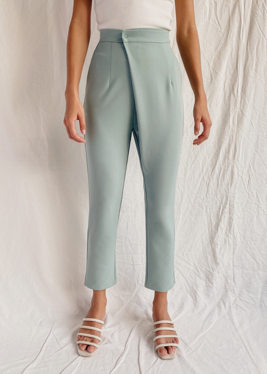 Meisel Crossover High Waist Pants