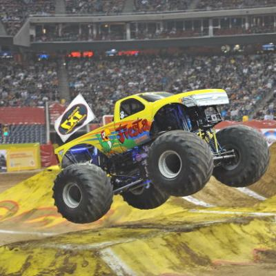 MONSTER JAM returns to Salt Lake City for more car-crushing monster truck action on February 14-16!